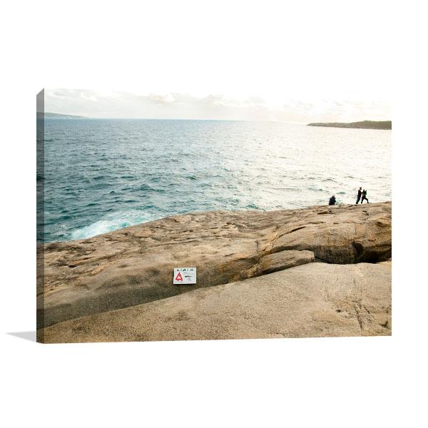 Perth Art Print Albany Blowholes Wall Art