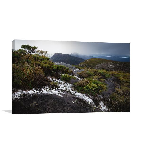 Perth Art Print Bluff Knoll Snow Canvas Art Prints