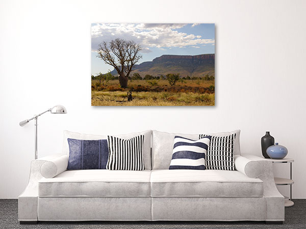 Perth Art Print Boab Tree Photo Wall
