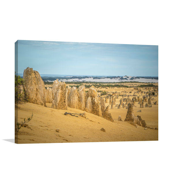 Perth Art Print The Pinnacles Desert Canvas Prints