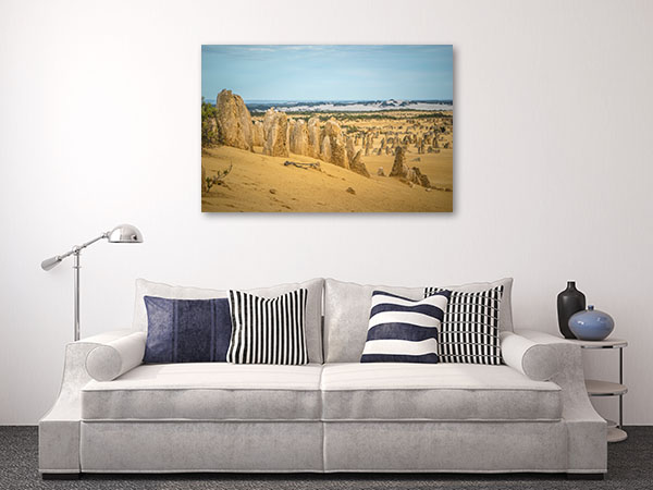 Perth Art Print The Pinnacles Desert Print Artwork