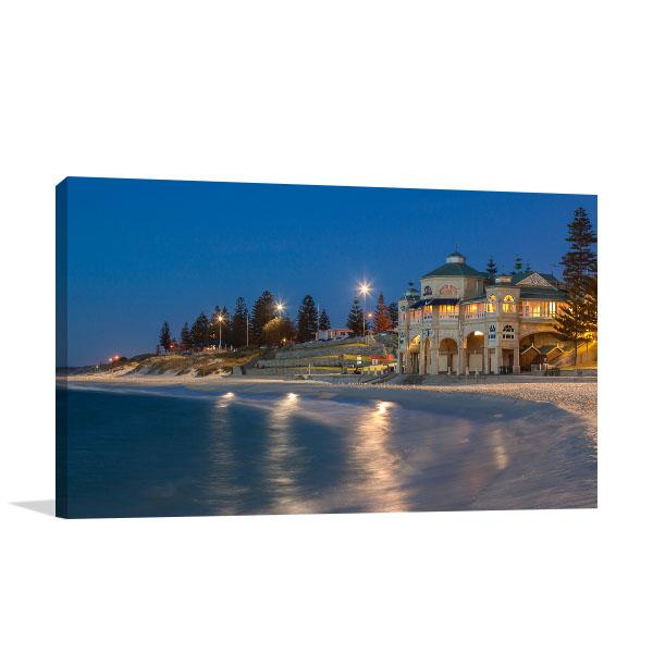 Perth Sunset Art Print Cottlesloe Beach Canvas Art