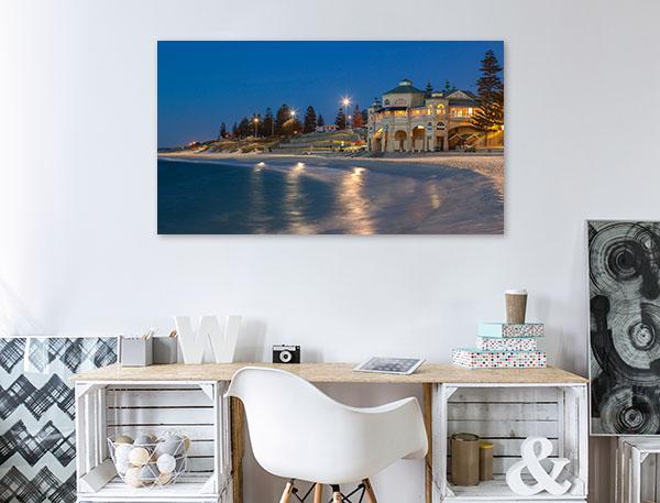 Perth Sunset Art Print Cottlesloe Beach Canvas Prints