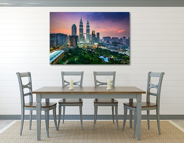 Petronas Towers Wall Art Print Canvas Art Prints