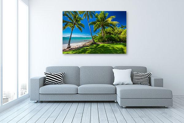 Port Douglas Art Print Palm Trees Canvas Art