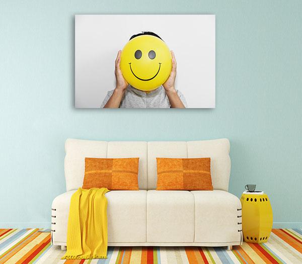Positive Thinking Canvas Art