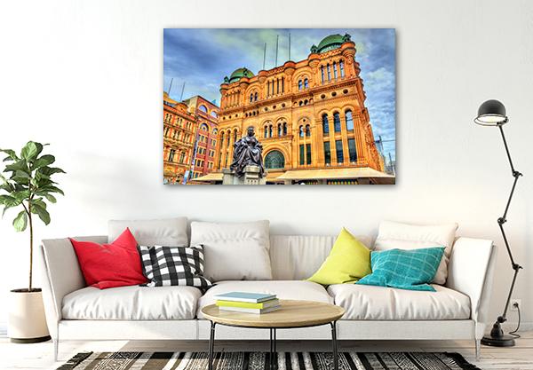 Queen Victoria Sydney Prints Canvas