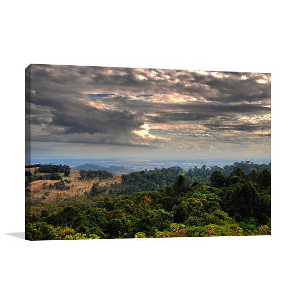 Queensland Art Print Bunya Mountains Prints Canvas
