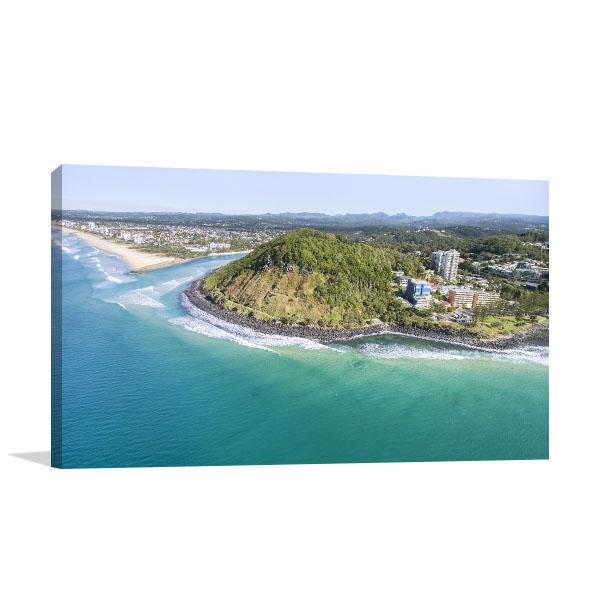 Queensland Art Print Burleigh Headland Canvas Prints