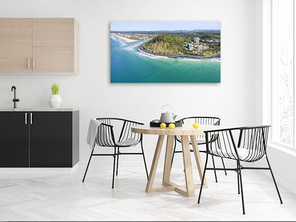 Queensland Art Print Burleigh Headland Print Wall Art