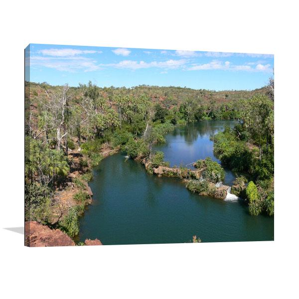 Queensland Art Print Indarri Falls Prints Canvas