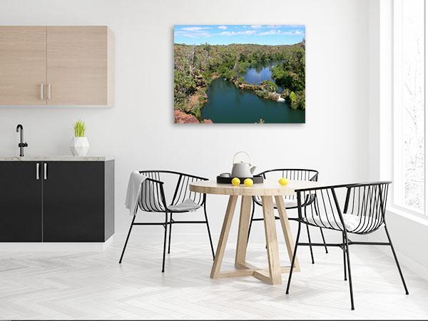 Queensland Art Print Indarri Falls Canvas Prints