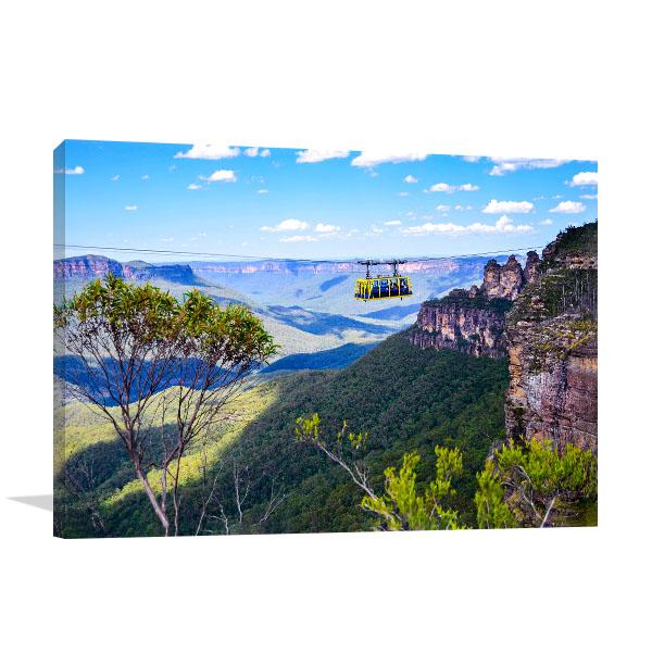 Queensland Art Print Skyrail Rainforest Canvas Art Prints