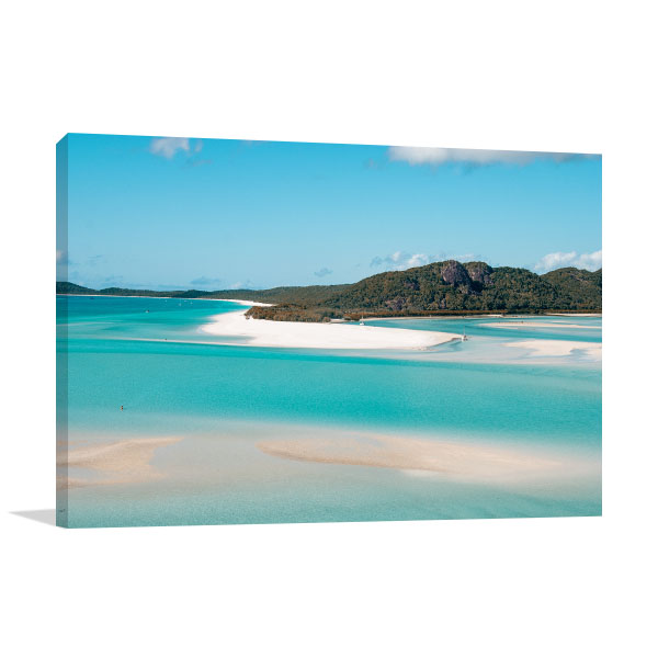 Queensland Art Print Wonderful Sea and Forest Wall Art