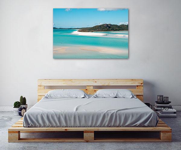 Queensland Art Print Wonderful Sea and Forest Canvas Art