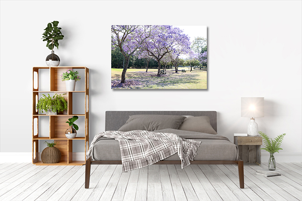 Queensland Brisbane Art Print New Farm Park Print Wall Art