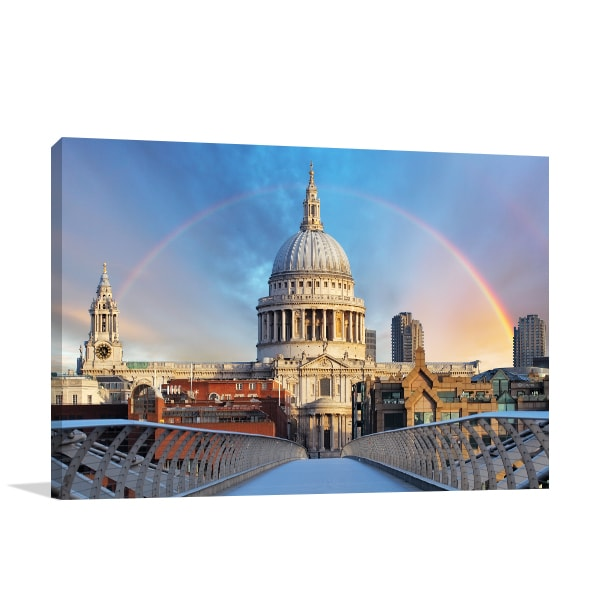 Rainbow Cathedral Wall Art