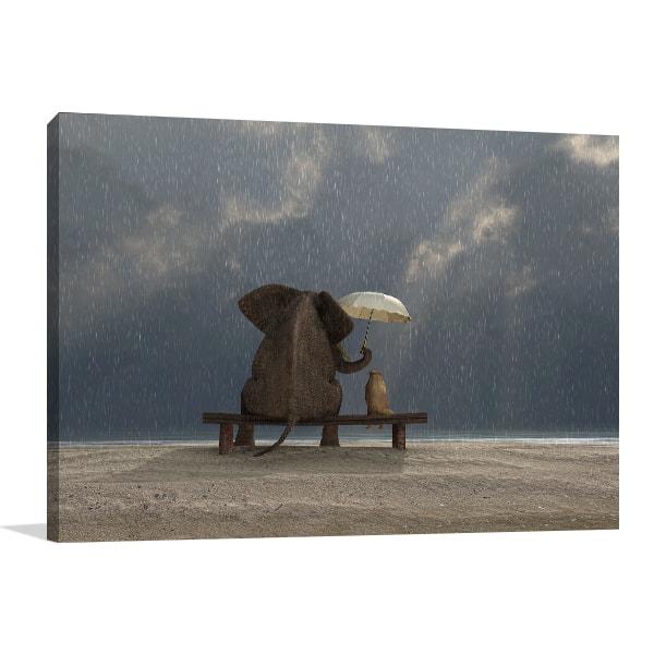 Rainy Day Art Prints