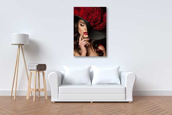 Red Bouquet Roses Art Prints