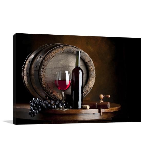 Red Wine Canvas Artwork