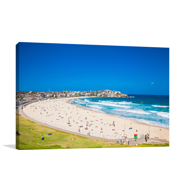 Relax at Bondi Beach Canvas Art