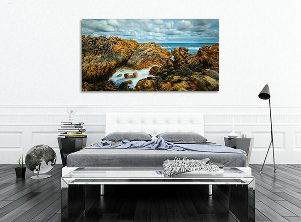Rocky Beach Busselton Canvas Art Prints