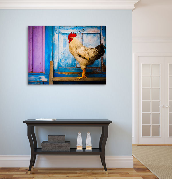 Rooster Profile Wall Art