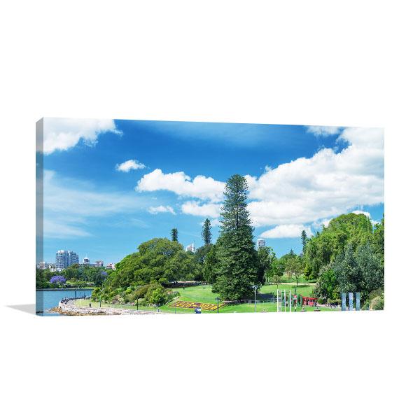 Royal Botanic Garden Art Print Sydney Wall Art