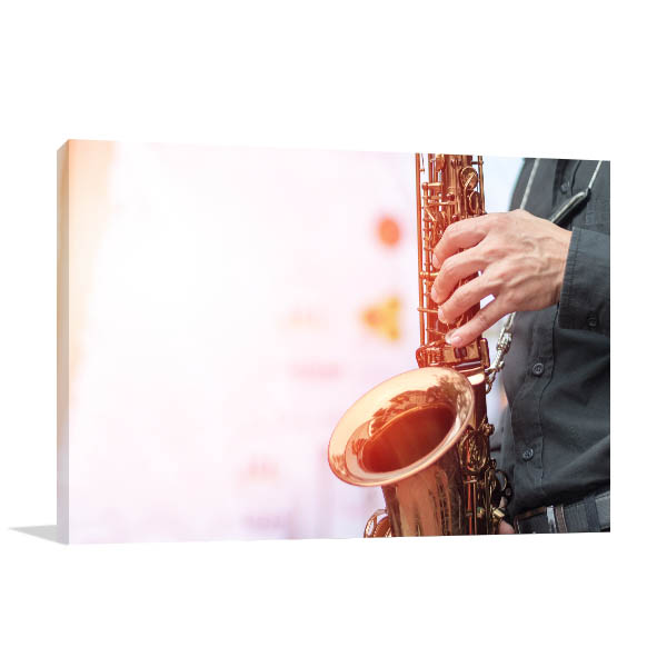 Saxophonist Player Wall Art
