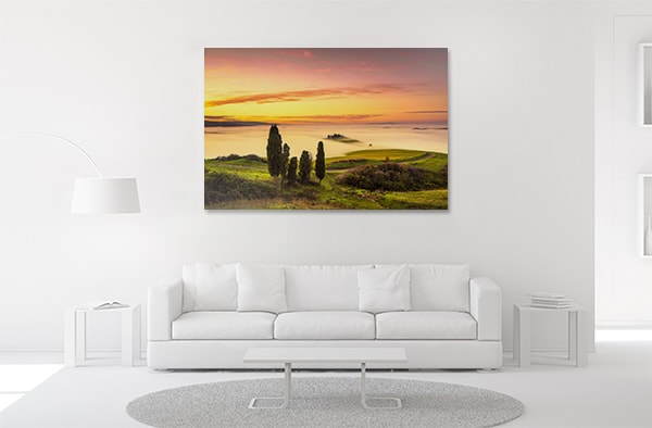 Sea of Clouds Canvas Art