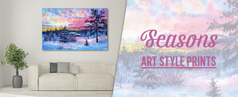 Seasons Style Prints For Bedroom Walls