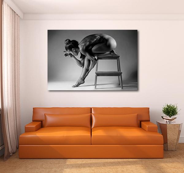 Sexy Silhouette Art Prints