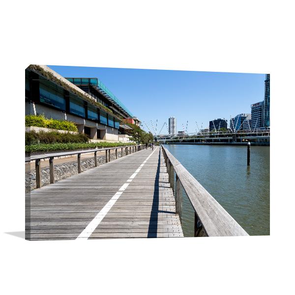 South Bank River Brisbane Wall Art