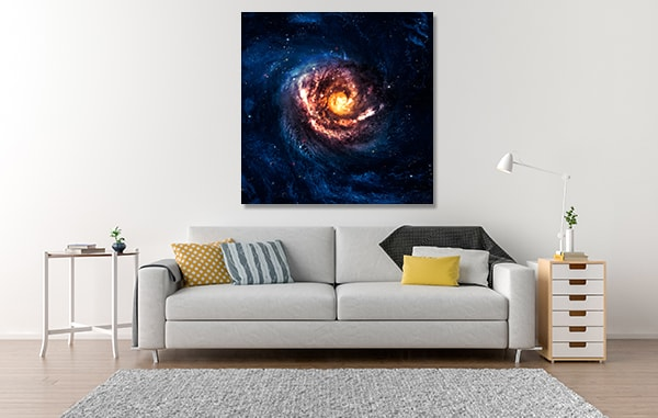 Spiral Galaxy Art Prints Spiral Galaxy Wall Art & Spiral Galaxy Wall Art Print | Home Decor Canvas Melbourne