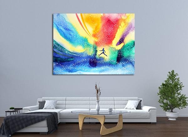 Spiritual Imagination Print Artwork on the Wall