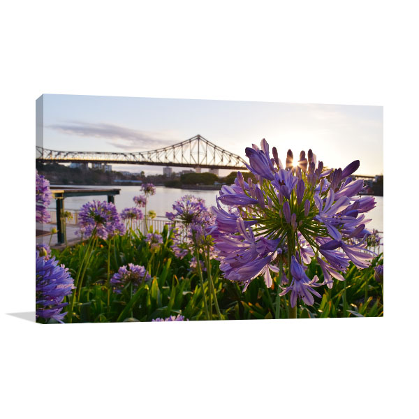 Story Bridge Brisbane Canvas Art