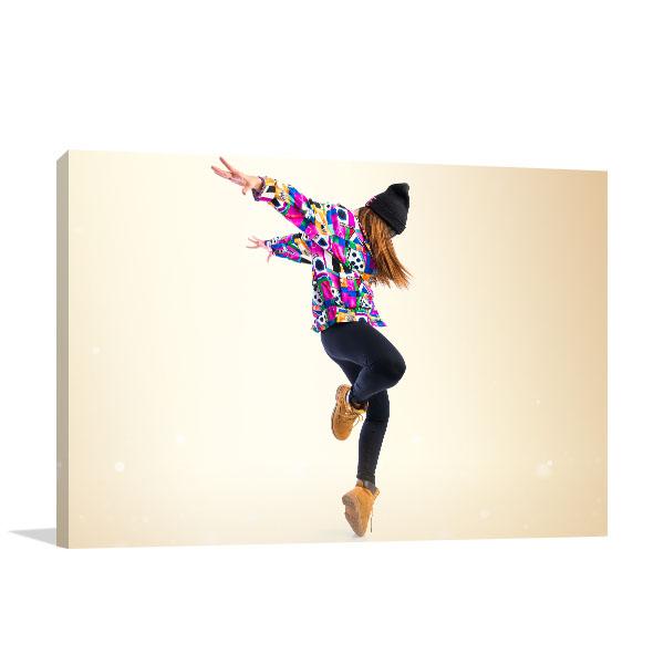 Street Dance Print Artwork