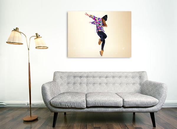 Street Dance Canvas Prints