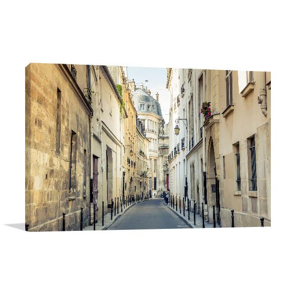 Streets of Montmartre France Prints Canvas