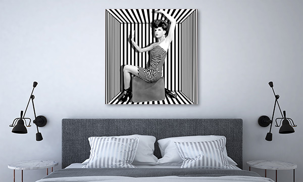 Stripes Boxed Print Artwork