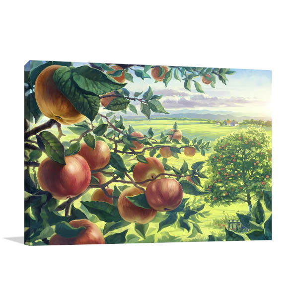 Summer Apples Branch Art Prints