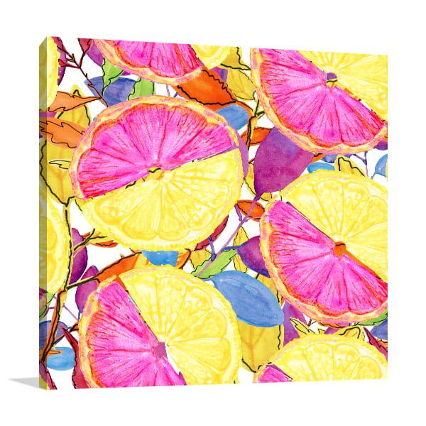 Summer Fruits Artwork