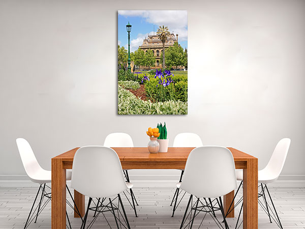 Sunny Day Bendigo Prints Canvas