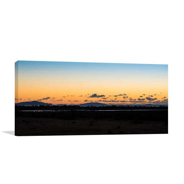 Sunrise off Mackay Print Artwork