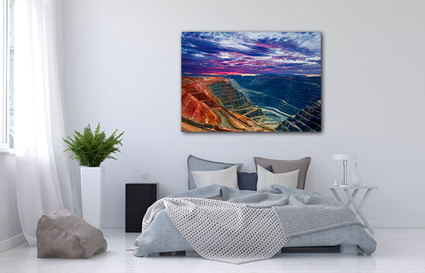 Super Pit Kalgoorlie Artwork