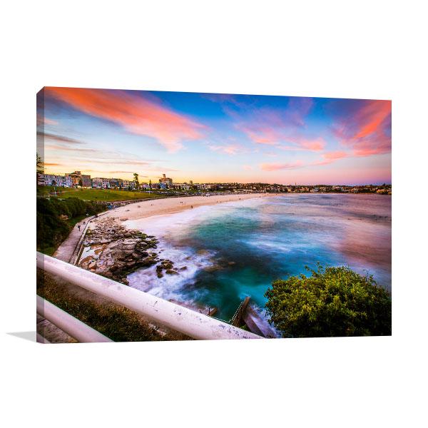 Sydney Art Print Beautiful Bondi Beach Canvas Prints
