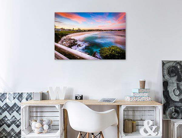 Sydney Art Print Beautiful Bondi Beach Print Artwork