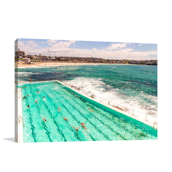 Sydney Art Print Bondi Beach Artwork