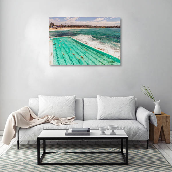 Sydney Art Print Bondi Beach Wall Art Photo Print