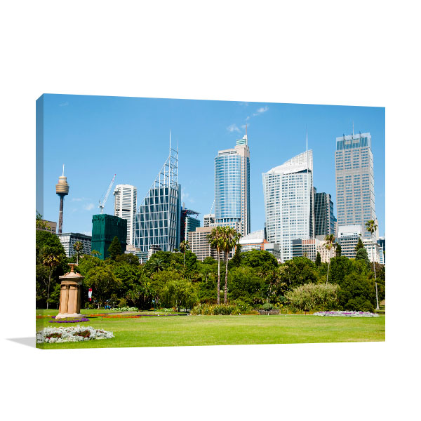 Sydney Art Print Botanical Garden Canvas Art